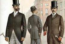 Men`s fashion 1890`s