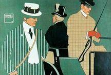 Men`s fashion 1900`s