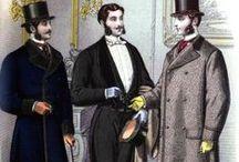 Men`s fashion 1870`s