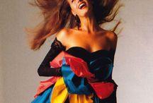 Women`s fashion 1980`s
