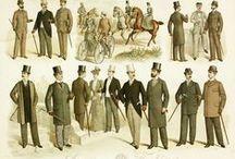 Men`s fashion 1880`s