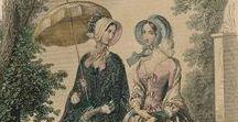 Women`s fashion 1840`s
