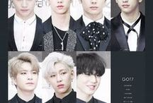 GOT7「 Kpop 」 / 「 ^ is a South Korean boy group formed by JYP Entertainment. The group is composed of seven members: JB, Mark, Jackson, Jinyoung, Youngjae, BamBam, and Yugyeom 」