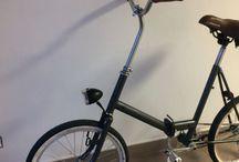 Eska folding bicycle / Remake of legendary polish Eska folding bike