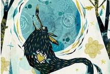 ART 240 - Experimentation with Illustration  / by Amanda Bovee