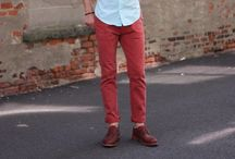 Men's fashion / What I love to see guys wearing / by Deven Michels