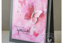 Card Creations with Butterflies