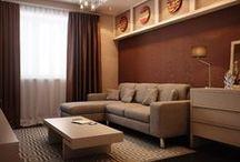 """Квартира в ЖК """"Северная долина"""" / Дизайн однокомнатной квартиры 45 м2"""