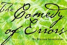 "William Shakespeare's Birthday / Did you know how many of our everyday sayings originated with Shakespeare? Phrases such as ""wild goose chase"", ""good riddance"", and ""eaten out of house and home"" were coined or popularised by Shakespeare. Celebrate the bard's birthday by taking out of his classics. Click through the covers to place holds on each title."
