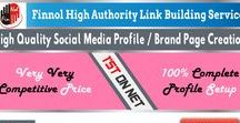 High Domain Authority Social Media Profile Creation / 100% White hat method (manual submission only) Build complete Personal / Business / Corporate profile setup Place your company logo / personal image Use high domain authority sites (20+ DA) Enhanced profile setup includes - bio, title, keyword, url, personal info, contact info etc., Use your brand name as a keyword (available sites only) Protect your brand name (ORM) We integrate your existing profile links on new profiles