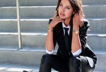 WELL SUITED / Women in Great Suits  / by Christina Lynne