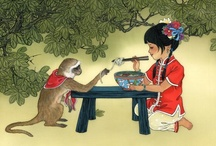 The Monkey (Chinese Zodiac) / by Maria Maad