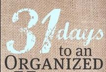 Be Organized / by Megan Roca