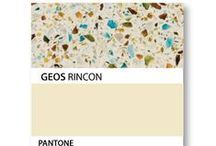 GEOS PANTONE COLORS EXPLORED / pantone swatches for GEOS colors...use these as accent colors!