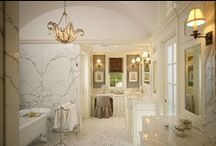 Bathrooms & Powder Rooms / A collection of bathrooms & powder rooms featuring Niermann Weeks designs.