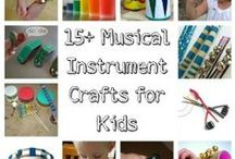 VBS 2013 Music Craft / Craft possibilities for VBS 2013. theme of Music.