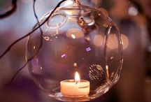 """.I^I._By Candle Light_.I^I. / """"To light a candle is to cast a shadow.""""  Ursula K. LeGuin  / by Maria Maad"""