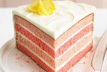 Cake and Cupcakes / Cake, frosting, cupcake, bar recipes