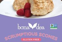 Bona Dea Gluten Free Products / Our blends start with whole grains, never sugar or starches, and are free from the most common allergens. We get our ingredients from suppliers with a conscience, who treat their employees, community, and environment with respect. Simply put, we want to improve the quality of your life through our food and make you feel great.