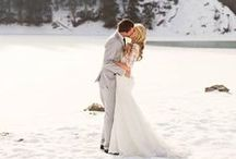 Winter Weddings / Baby, it's cold outside! We LOVE winter weddings!