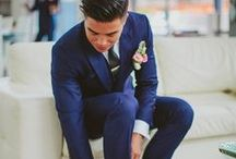 Navy Dreams / There's something a beautifully blue wedding!