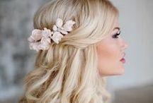 "Bridal Hair / 'Dos for when you say, ""I do!"""