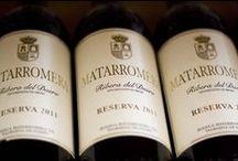 VINOS GRUPO MATARROMERA / Los mejores vinos de Grupo Matarromera acompañan a tus platos del Restaurante la Espadaña. D.O. Ribera del Duero, D.O Rueda, D.O Cigales, D.O Toro, D.O. Rioja.