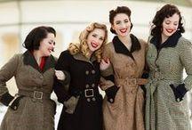 The Perfect Coat / Coat patterns, fashion inspiration, designer fashion, handmade coat love.