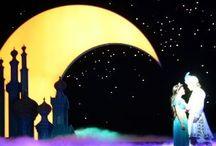 Aladdin / Stage props, theatre, dyi, inspiration