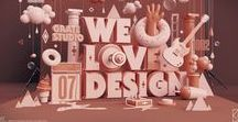 First 10: Bespoke 3D Typography / Main pages would each have a big beautiful image with appropriate message/title/phrase/logo creating (and animated a little?) in glorious 3D