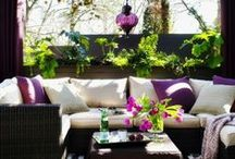 Outdoor space / Patios, verandas, pergolas, balconies - everything for cozy outdoor time