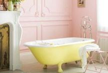 Room: Bathroom / Materials and decor for lovely bathrooms