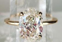 Engagement Rings / Vintage, halo, solitaire, and more! Diamond engagement rings.