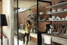 Kitchen / Idea board for industrial rustic kitchen