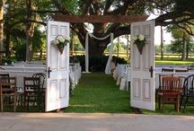 Vintage Weddings / Photos of vintage weddings and several of our rentals in use.