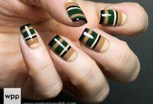 Nail Art - Righe e Strisce