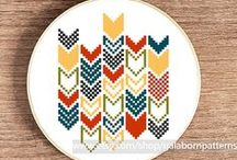 Embroider & Stitch / Cross stitch and embroidery patterns and techniques