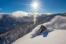 Hotel Aspen - POWDER DAYS / Gorgeous powder days in Aspen! Get out and ski! #SkiAspen
