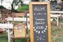 Wedding Signage / Inspirational signs for the big day!