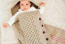 Modèles tricot bébé