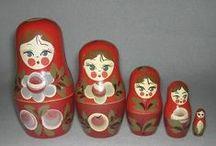 Matryoshka Nesting Dolls / by Stella Causey