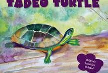Tadeo Turtle - the Book / Tadeo Turtle - an illustrated children's book for children aged 3-7. Tadeo Turtle longs to be different. Through an exciting adventure find out how Tadeo learns to accept how God created him. Visit me at www.janiscox.com  $12.99