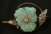 Antique and Estate Jewelry / From Victorian mourning pins, through delicate Art Deco filigree rings, all the way to Retro and Modern jewelry