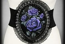 Gothic Bags, Purses and Belts / A beautiful range of gothic and alternative bags, purses and belts