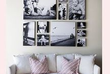 photo display ideas / beautiful, creative and innovative ways to decorate your home with photographs of your family