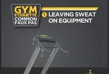 Gym Etiquettes /  Common Faux Pas