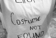 Costumes / by Sarah Kauffman