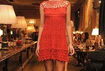 vestidos / Trabalhos em linha / by Sebastiana Maximiano dos Santos