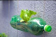 Butelki PET / PET bottles / Co można zrobić ze zwykłej butelki PET? :)