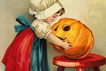 Halloween – Victorian Greeting Cards and Images